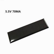 Mini Mono Solar Panel 5V 70MA für DIY Spielzeug/Solar Rasen Licht Sensor Lichter/Solar Taschenlampe 5,5 V