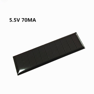 Image 1 - Mini Mono Zonnepaneel 5V 70MA Voor Diy Speelgoed/Solar Gazon Licht Sensor Verlichting/Solar Zaklamp 5.5V