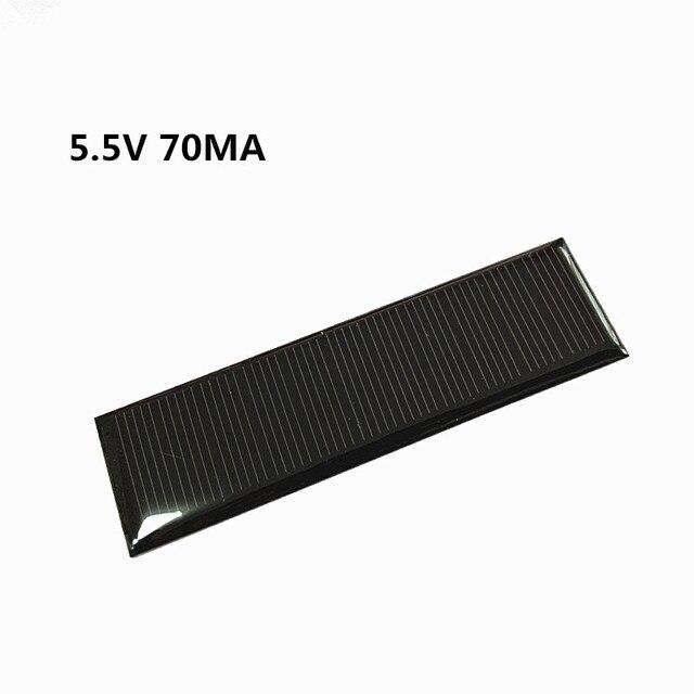 Mini Mono Zonnepaneel 5V 70MA Voor Diy Speelgoed/Solar Gazon Licht Sensor Verlichting/Solar Zaklamp 5.5V