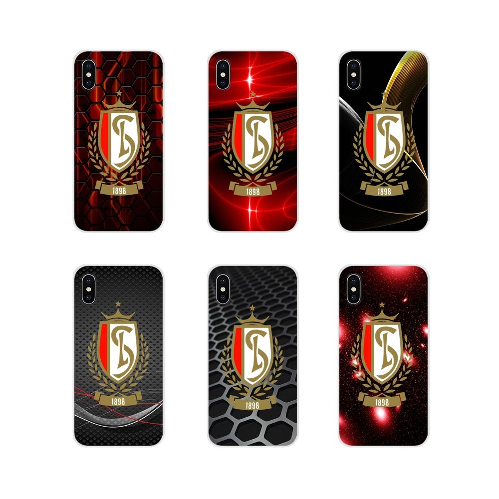 Transparent Soft Shell Cover For Samsung Galaxy S4 S5 MINI S6 S7 edge S8 S9 S10 Plus Note 3 4 5 8 9 football team Standard Liege