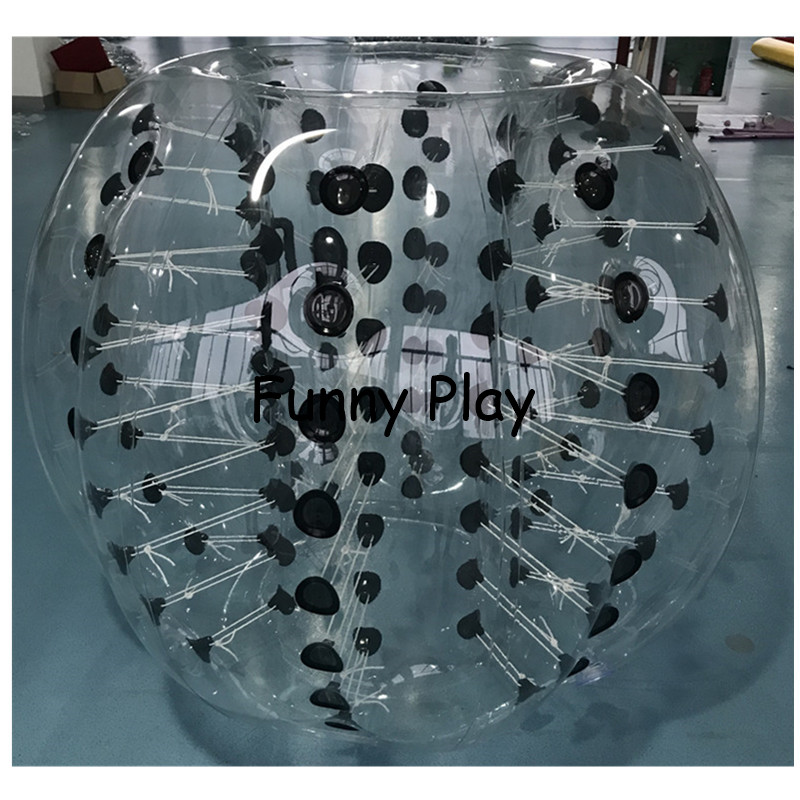 Bubble soccer Body Zorbing air bumper sports toy game knocker zorb human hamster ball Sport Air Bubble Children Play Game