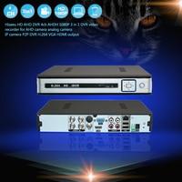 Hiseeu AHDH HD 4ch 1080P 3 In 1 DVR Video Recorder For Analog Camera AHD Camera