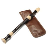 8 Holes Alto Recorder Baroque Clarinet Flauta Chinese Vertical Flutes Musical Instrument