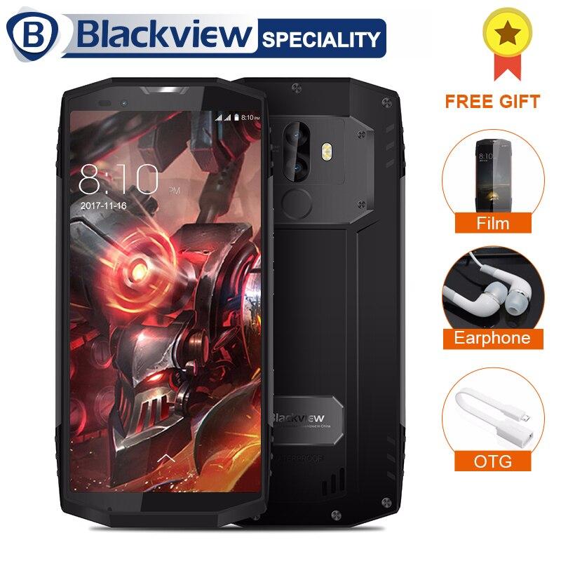 Blackview BV9000 Smartphone 5.7 18:9 HD + Plein Écran IP68 Étanche 4 gb + 64 gb Helio P25 Octa core 4180 mah 13 + 5 mp NFC 4g Téléphone