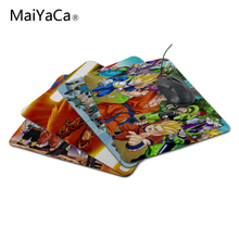 MaiYaCa Arrival Top Sale Customized Anime oku Dragon Ball Z ame aming Mouse Laptop Computer PC Anti-slip Mouse Mat Drop Shipping