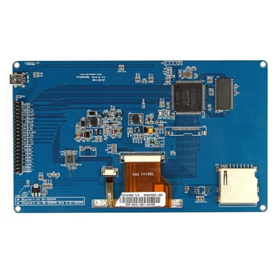 ФОТО 7 Inch TFT LCD Touch Display CPLD SDRAM 800x480 For Arduin UNO Mega2560
