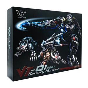 Image 5 - VT 01 VT01 Kill Lockdown Transformation With Two Dogs Alloy Metal KO VS UT R01 Deformation Action Figure Robot VISUAL Toys