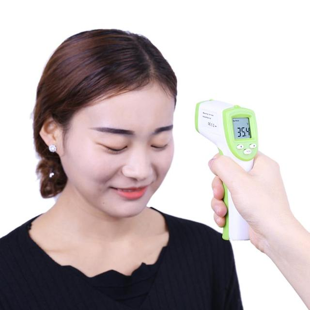 Baby Adult LCD Digital Thermometer Forehead Infrared Electronic Termometro Gun Non-contact Body Temperature Measurement Device