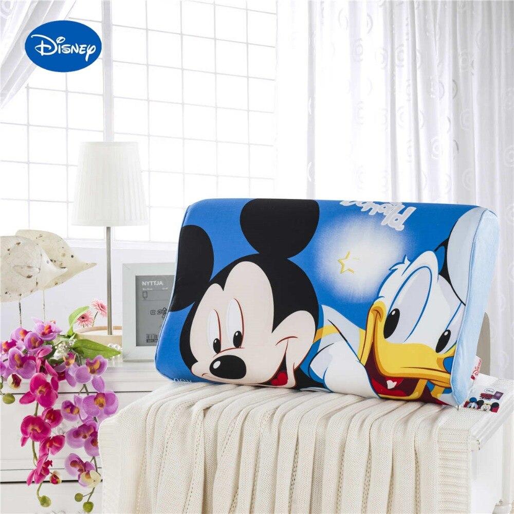 ①Caliente azul Mickey Mouse Donald Duck memoria Almohadas Ropa de ...