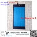 100% гарантия Оригинальный Новый Для xiaomi Mi3 M3 Сенсорный экран Панели Планшета с Передним Стеклом Черный Тест ok + отслеживая