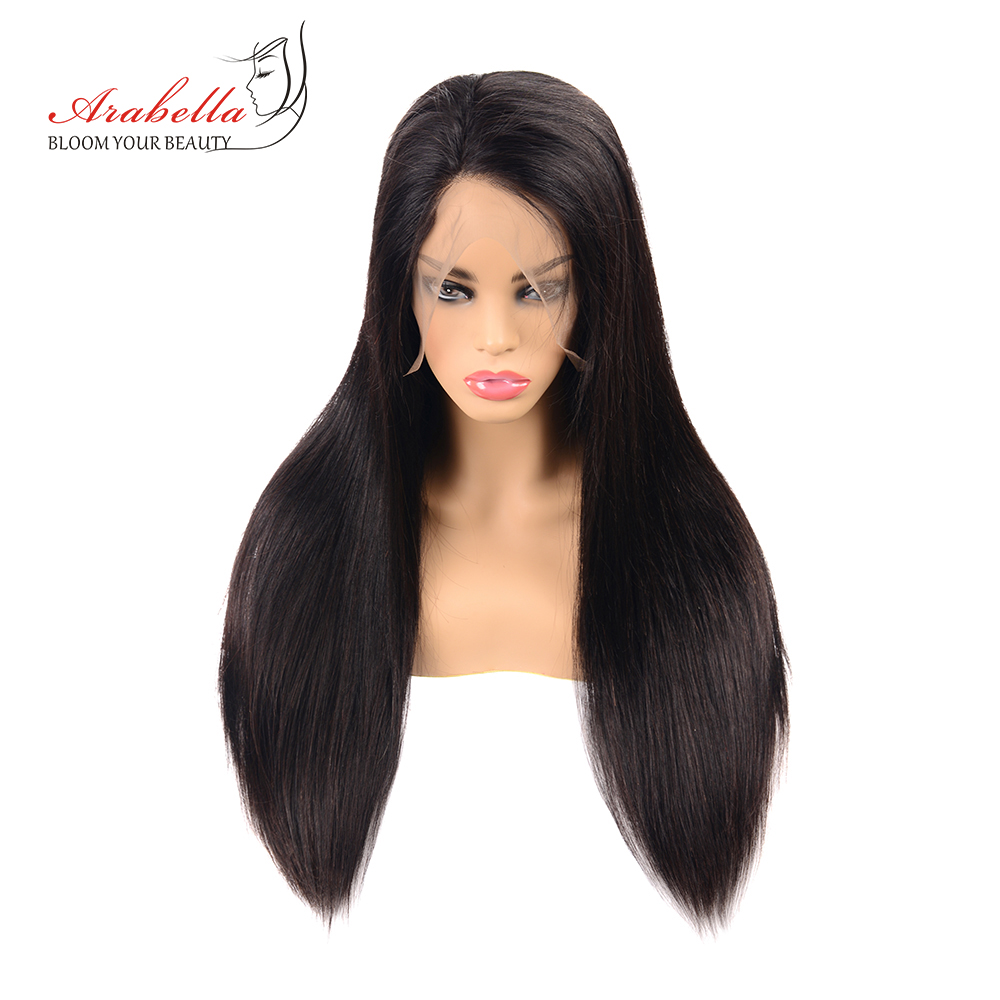 Lace Front Human Hair Wigs Brazilian 13*6 Straight Hair Lace Wig Arabella 180% Density Lace Front Wig 100% Remy Human Hair Wigs