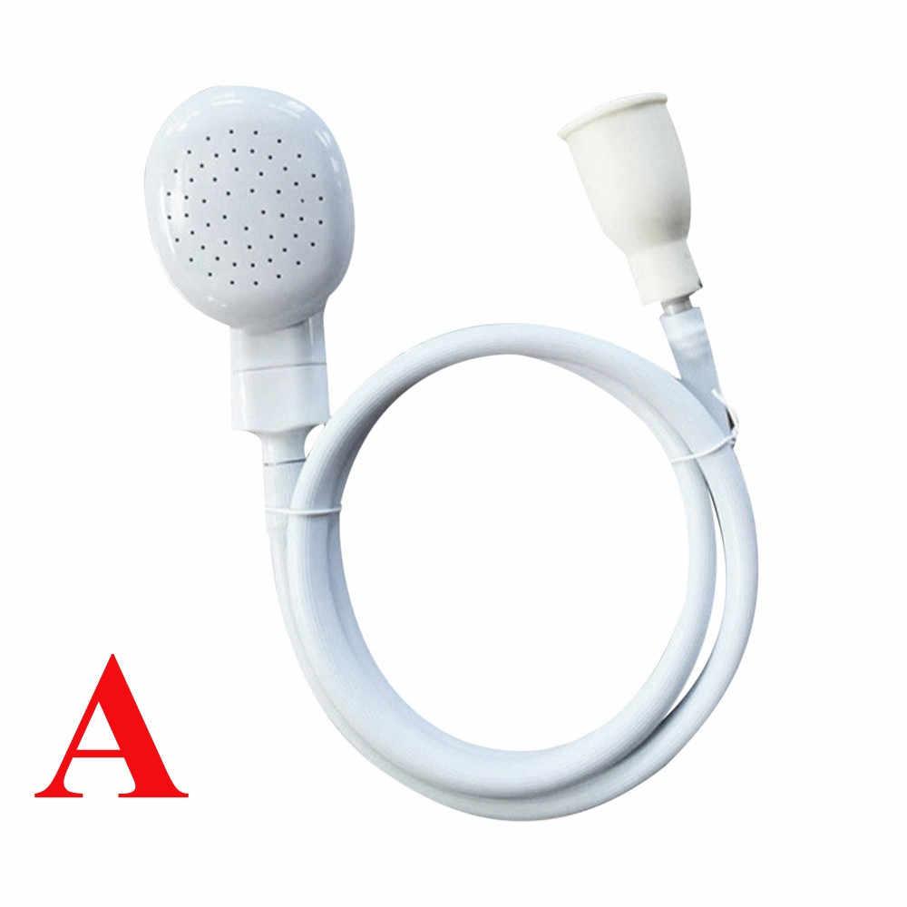 浴室節水シャワーヘッドのための蛇口 diy スプレー排水ストレーナー延長ホースシンクシャワーヘッド sep 10