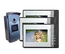 Envío libre de DHL 7 Pantalla a Color LCD de video teléfono de la puerta Espectador Digital de La Puerta Mirilla de La Cámara de Visión Nocturna Timbre Seguridad Para El Hogar Inteligente
