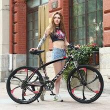 26-Inch mountain bike 21 24 27 30 speed high carbon steel bicycles sport men women bicicleta