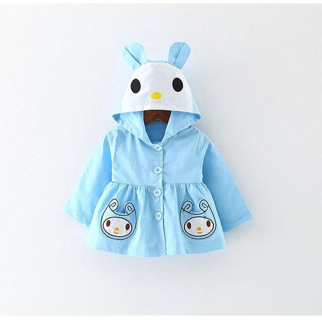 Primavera roupas das meninas roupa do bebê jaqueta corta-vento ocasional outerwear para infant baby clothing marca bonito coreano casacos jaquetas