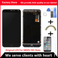 AAA Quality! Original LCD + Original Frame For MEIZU M1 NOTE Lcd Display Screen Replacement For MEIZU M1 NOTE Digiziter Aseembly