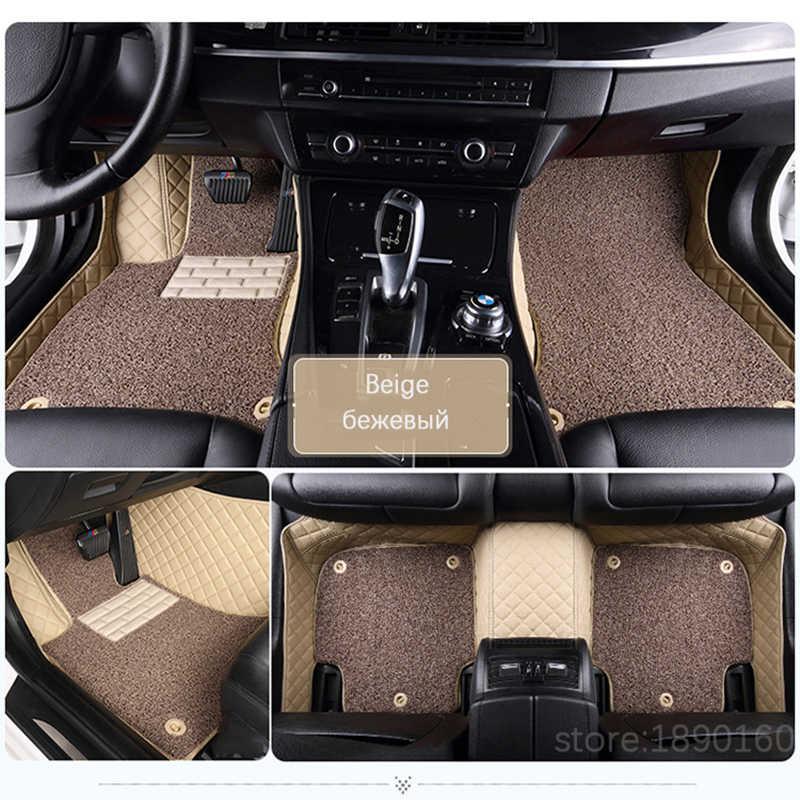 Custom car floor mats for Toyota Corolla Camry Rav4 Auris Prius Yalis Avensis Alphard 4Runner Hilux highlander sequoia corwn
