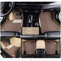 Personnalisé tapis de sol de voiture pour Toyota Corolla Camry Rav4 Auris Prius Yalis Avensis Alphard 4runner Hilux highlander sequoia couronne