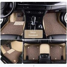 מותאם אישית שטיחי רצפת מכונית עבור טויוטה קורולה קאמרי Rav4 Auris פריוס Yalis Avensis Alphard 4 ראנר Hilux הנצח סקויה corwn