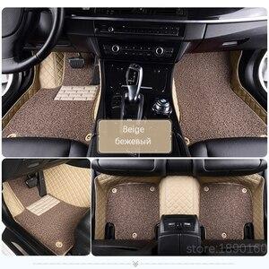 Image 1 - Toyota Corolla Camry Rav4 Auris Prius Yalis Avensis Alphard 4 러너 Hilux highlander sequoia corwn 용 맞춤형 카 바닥 매트