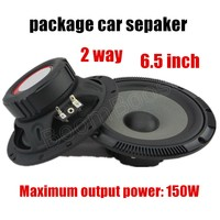 A Pair 6 5 Inch Car Speaker 2x150W Stereo Audio Tweeter Horn Loudspeaker For Motocycle Car