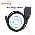 VSTM KM программа для FIAT программатор пробега OBD2 OBDII OBDTool инструмент для коррекции одометра для FIAT KM Инструмент