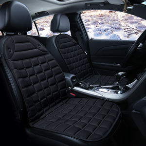 Image 2 - חם חשמלי מחומם רכב כרית 12V מחומם יחיד רכב כרית כיסוי מושב, דוד החורף אוטומטי מושב כרית