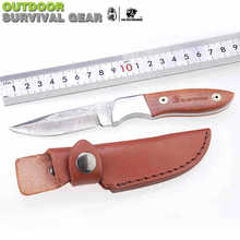 High hardness of Damascus knife survival defensive knife outdoor knife collecting knife