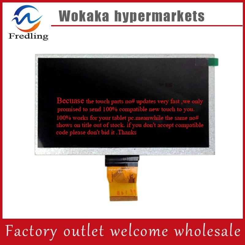 New LCD Screen 7 inch Tablet 800x480 JML70011-02-V1B TFT LCD Display Screen panel Matrix Digital Replacement Free Shipping 11 0 inch lcd display screen panel lq110y3dg01 800 480