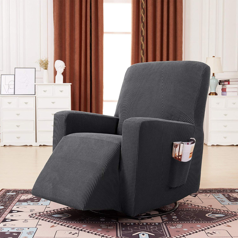 Household Elastic Recliner Cover Set High Quality Soft