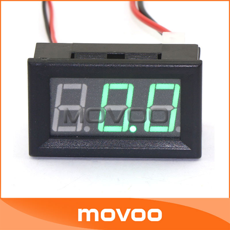 5 pcslot two wires digital amps gauge dc 6v12v24v amperage 5 pcslot two wires digital amps gauge dc 6v12v24v amperage measure meter 056 dc 0 50a green led digital ammeter 100093 in current meters from tools on keyboard keysfo Images