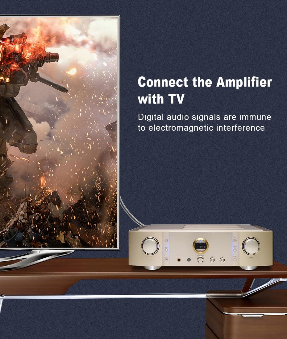 7 Top Grade OD8.0mm Spdif Optical Cable Gold Connector Digital Fiber Optical Toslink Audio cable 1m 1.5m 2m 3m 5m (14)
