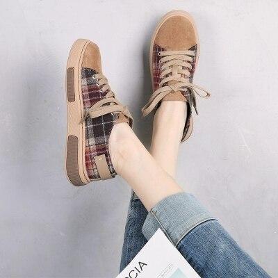 Chaussures Sauvage 2018 Casual Coréenne Femelle Nouvelle Marron De Version Femme Harajuku wZWqBUxASw