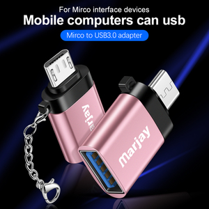 Image 3 - Marjay OTG Micro USB Cable Adapter for Xiaomi  Redmi 6a USB 3.0 OTG for Samsung  A7 Note3 Micro USB Adapter for Huawei P10