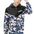 2016 Дизайн мужская Мода Куртка Камуфляж Jaqueta Masculina Повседневная Длинными Рукавами Куртку Плюс Размер 4XL Army Jacket. YA063