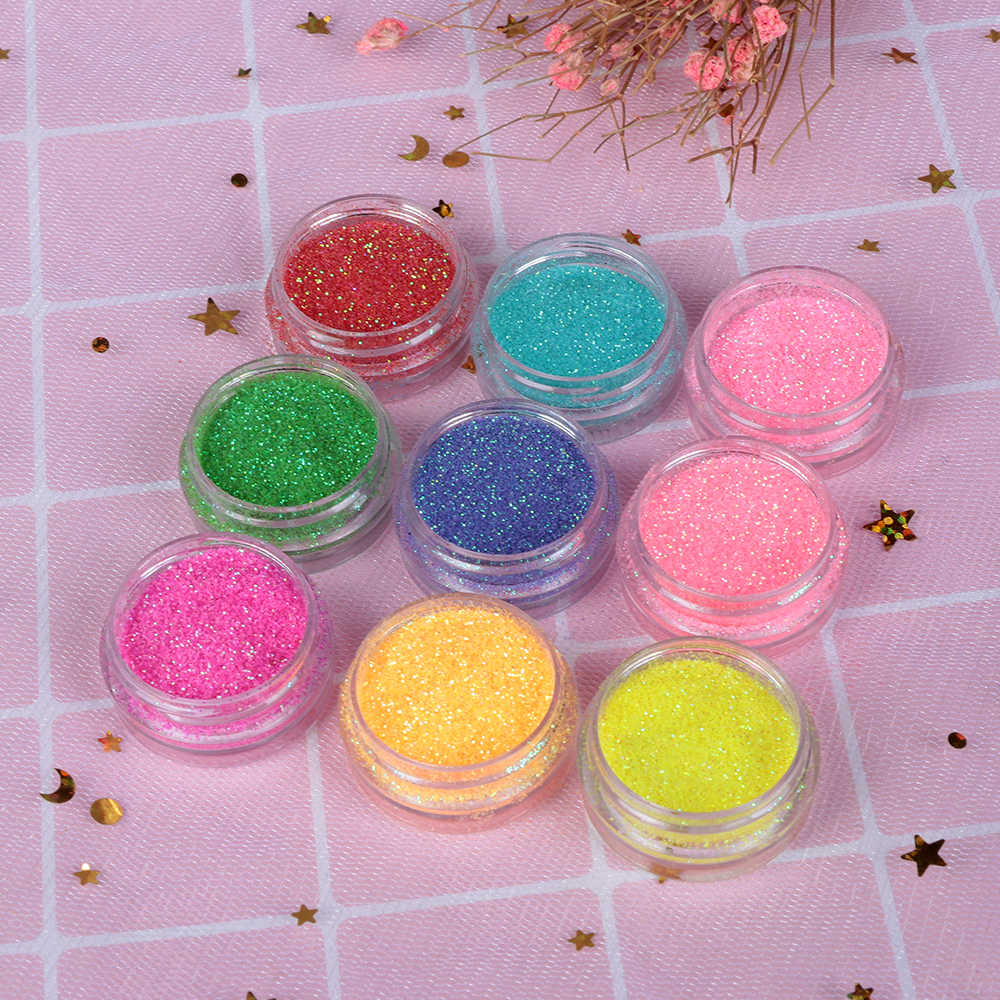 2Pcs 12 Colors Shimmer Mica Glitter Powder Pigments DIY Eye shadow Resin Makeup Nail Polish Artist Toiletry Decor Crafts