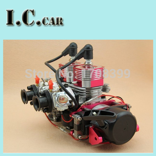 CNC double cylinder 52CC engine of rc boats