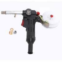 MIG Welding Machine Spool Gun Push Pull Feeder Aluminum Copper Or Stainless Steel DC 24V Motor