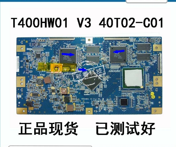 LCD Board T400HW01 V3 40T02-C01 40T02-C05 Logic board connect with T-CON connect board 50h2 ctrl eax43474401 ebr41731901 logic board printer t con connect board