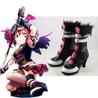 Anime Love Live Cosplay Shoes Ruby Kurosawa Cosplay Shoes Boots Halloween Party Women Cosplay Costumes Daily Leisure Shoes