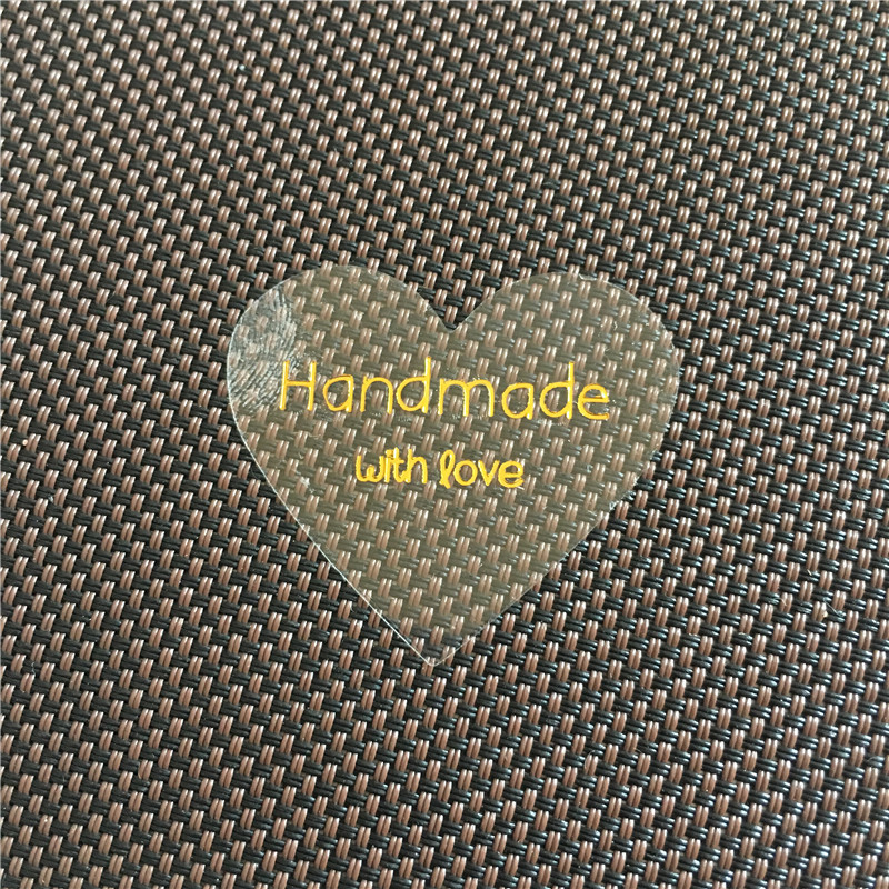 Transparent Clear Sticker Labels PVC Self-Adhesive Waterproof Printed For Jewelry Box Festival Gift Packing Seal Sticker 100Pcs
