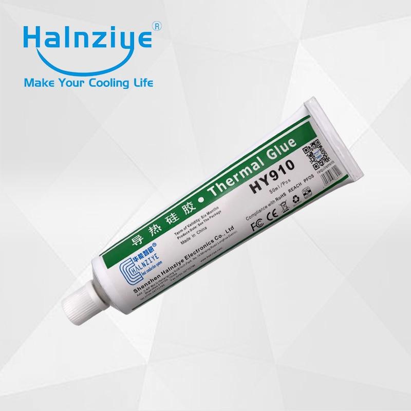 HY910 LED chladič a počítač sever / jih most silikonové tepelné lepidlo termální omítka 50mL (75g)
