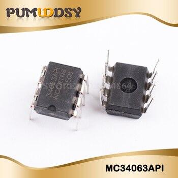 цена на 10PCS/Lot MC34063 MC34063A MC34063API 34063 DIP-8  Chip New Wholesale