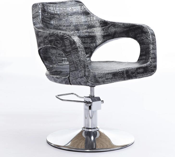 Direct Selling Hair Salon Special Barber Chair Fashion Haircut Stool Hydraulic Rotary Lift Chair.