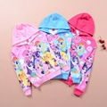 New Girls My Pony Coat Children Jackets kids coats Princess Cartoon Fever Elsa Long Sleeve Costume Hoodies For 5 6 8 10 12 Years