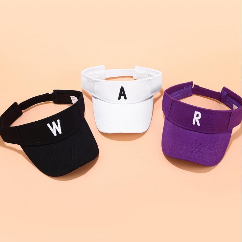 New Summer Visors 12 Colors Men Women Summer Outdoor Sport Sun Baseball Cap Hat For Golf Hiking Tennis Running Sunscreen Cap