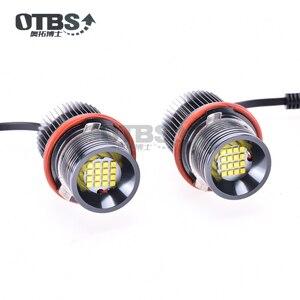 Высокая мощность Ошибка бесплатно 160 Вт белый светодиод ангельские глазки Halo Кольцо дневные габаритные лампы для BMW E39 E53 E60 E61 E63 E64 E65 M5 X3