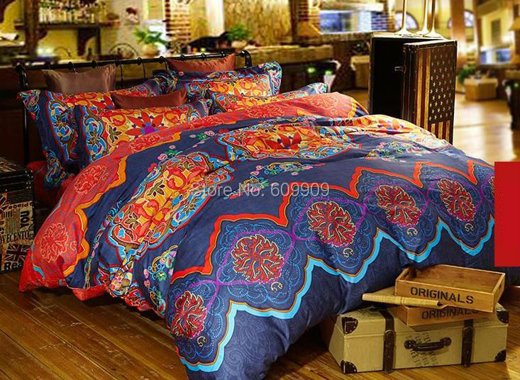 bohemian duvet cover king cotton boho style bedding bohemian bedding 4856