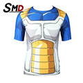 new fashion 2016 short-sleeve dragon ball Super Saiyan 3d T-shirt OS Homens Son Goku Android 18 tshirt homme cosplay S-XXXL