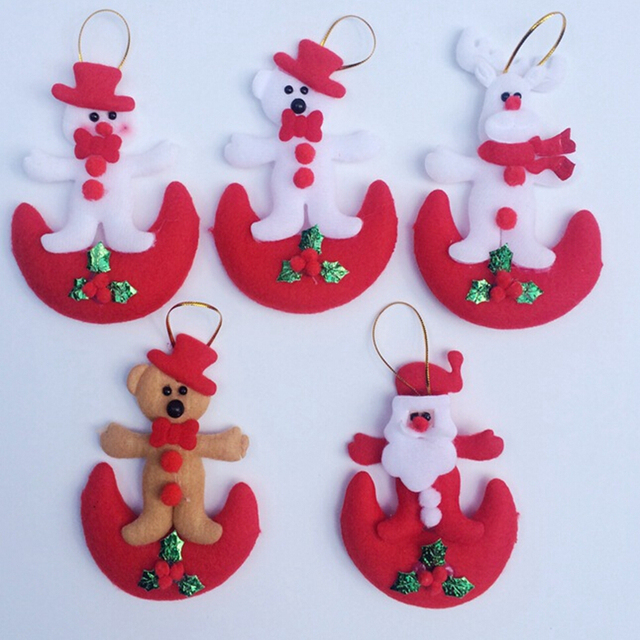 Aliexpress.com : Buy 5pcs/lot 11*8cm Elk doll Christmas Articles ...